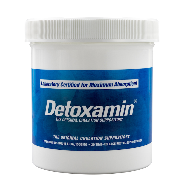 Detoxamin edta suppositories are more affordable, helps with heavy metal detox, the best metal detox available, more effective than oral chelation, much less chelation therapy side effects, for a lower chelation therapy cost, more affordable metal chelation, has less heavy metal detox symptoms, edta chelation therapy made easier and affordable, detoxamin is the best heavy metal chelation, a better more effective chelation treatment, edta chelation is now affordable and simple, the edta supplement that works at nighttime, our chelation supplement is doctor recommended, more convenient than IV chelation therapy, less invasive than IV chelation, very effective mercury chelation, the gold standard in lead chelation